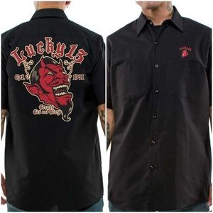Lucky 13 Grease, Gas & Glory Shirt